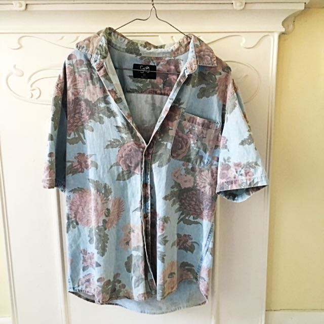 Coloured Floral shirt