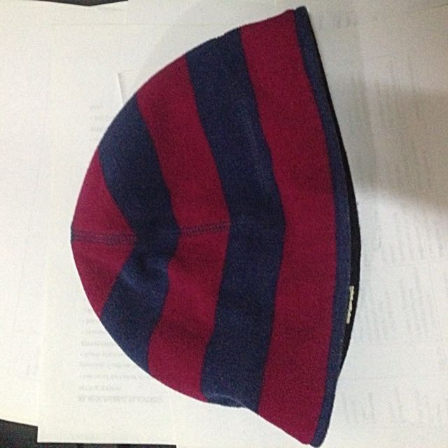 Dark Blue And Purple Beanie