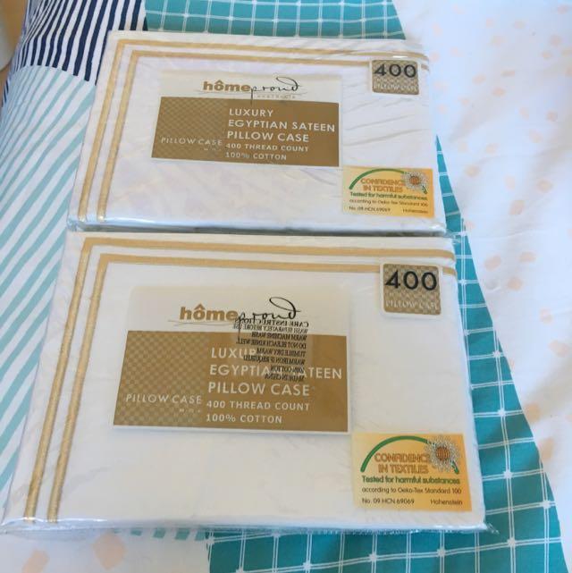 Egyptian Cotton Pillow Case 400 Thread Count