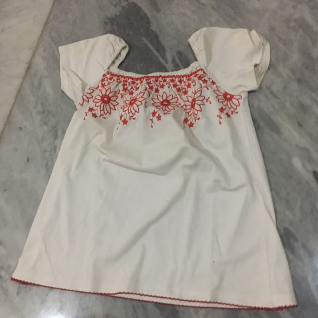 Reprice - embroidered top
