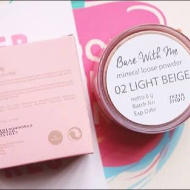 Reprice Emina Bare With Me Loose Powder, Health & Beauty, Makeup on Carousell