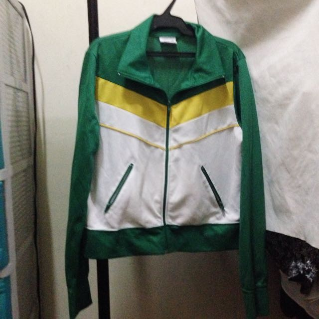 Green Miken Wind Breaker Medium Women's
