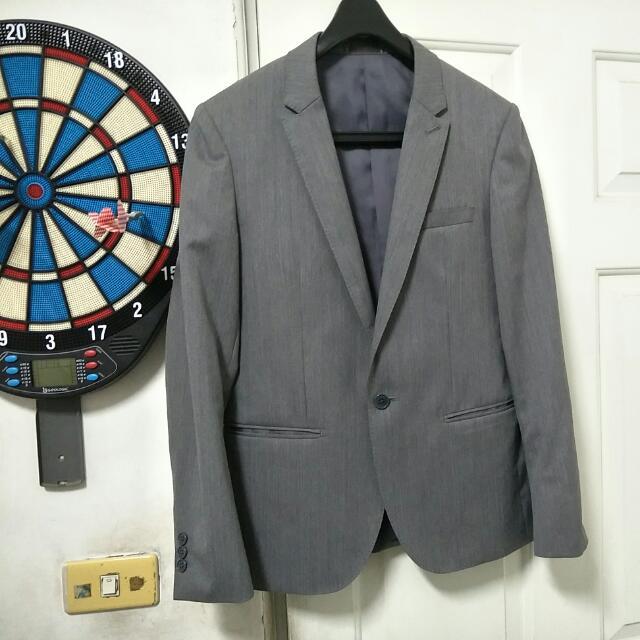 日本Hare灰色高質感西裝外套,S~M號可參考,超新