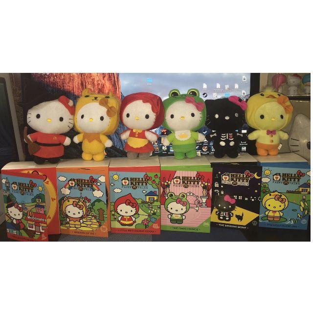 Hello Kitty Fairy Tale Collection Plush Set