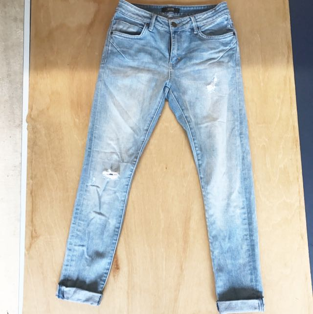 High Waisted Jeans - NEUW Denim Brand