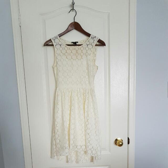 H&M Off White Dress Size Small