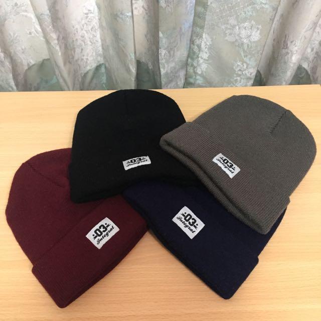 Integral03 毛帽 黑/深藍/灰/棗紅