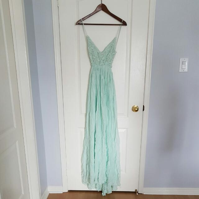 L'atiste By Amy Maxi Backless Dress Size Small