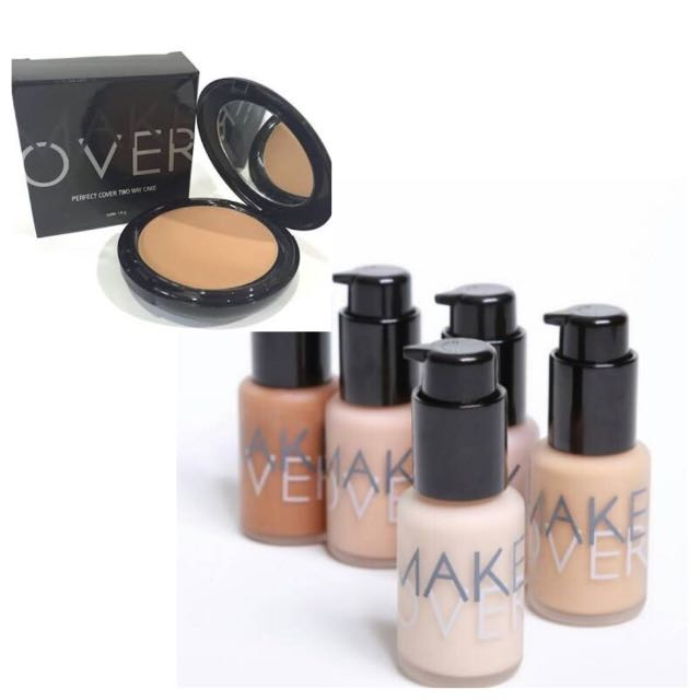 MAKEOVER FOUNDATION & TWO WAY CAKE