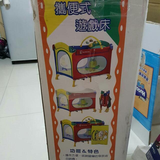 MAUSTCO瑪芝可 豪華版收折式拱型嬰兒床/遊戲床