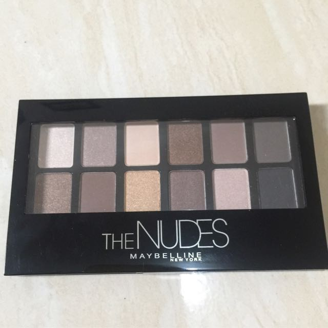 Maybeline The Nudes Palletes