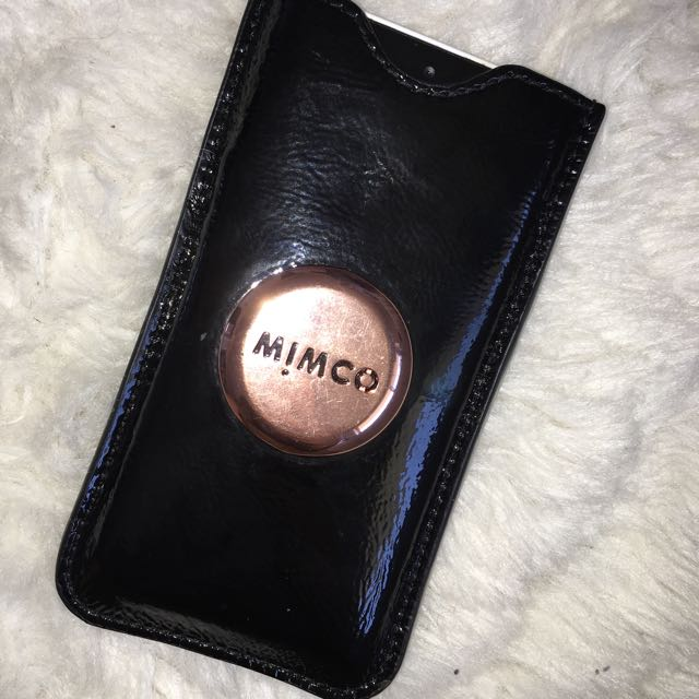 Mimco card Holder/iPhone 5