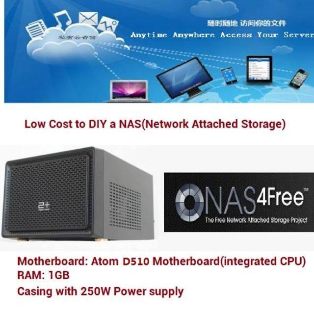 NAS / Network Attached Storage /NAS4FREE /computer /网络存储器/电脑