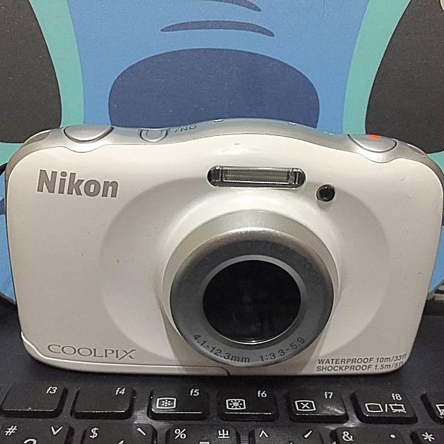 Nikon S33 二手便宜賣 防水相機 10米 兒童相機