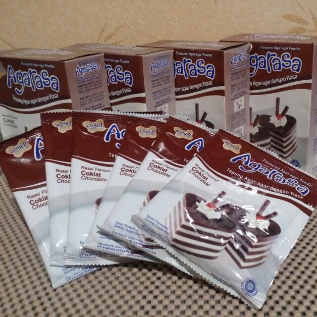 Nutrijell Agarasa Coklat