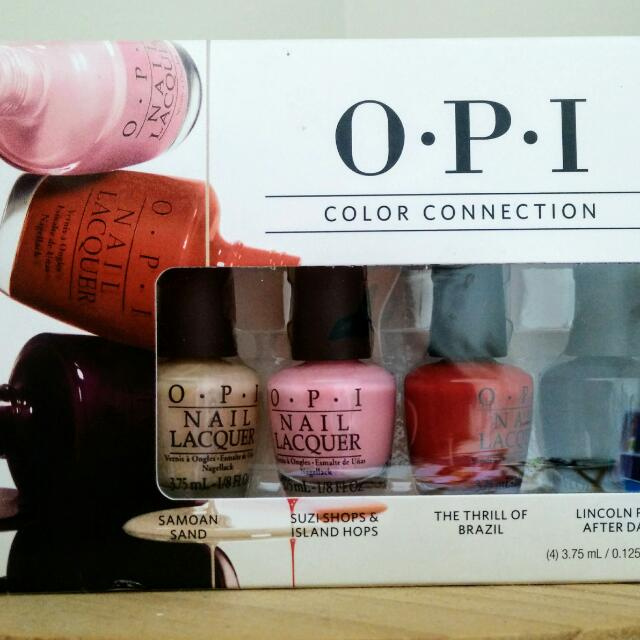 Opi Colour Connection Mini- NEW