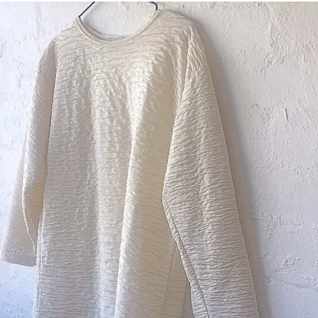 Oversized Textured Top