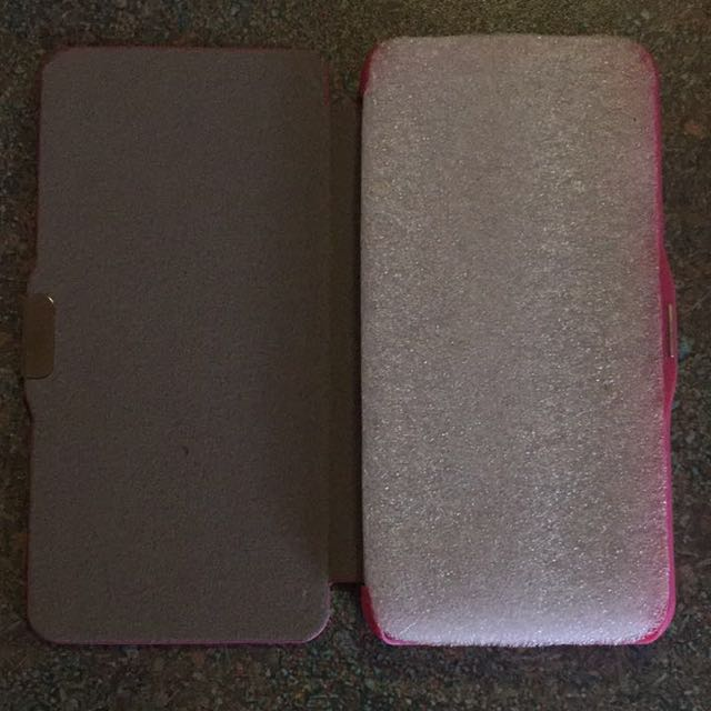 Pink iphone 6 hard Case with flap