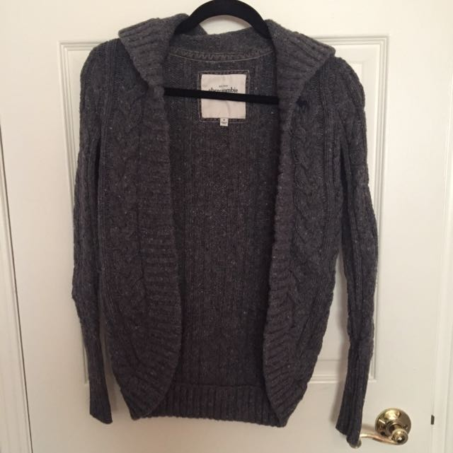 Abercrombie Cocoon Hooded Cardigan