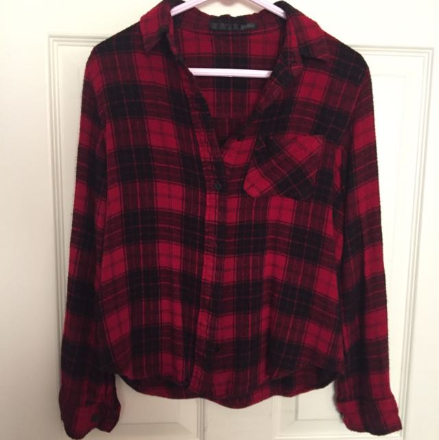 Japanese Brand Heather - Red Flannel