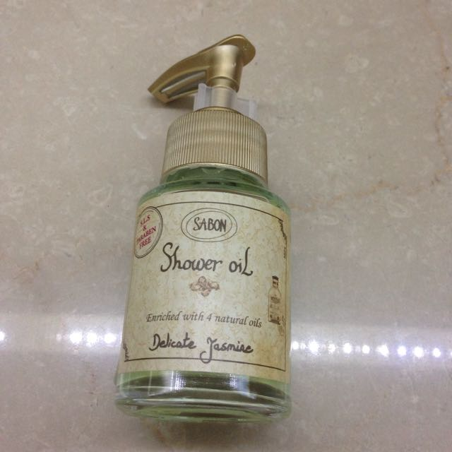 SABON 茉莉花語沐浴油(60ML)郵寄掛號免運