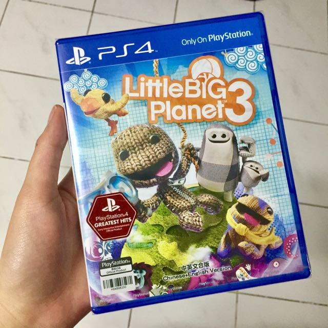 Sealed Little Big Planet 3 For PS4
