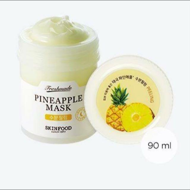 Skinfood Pineapple Freshmade Mask