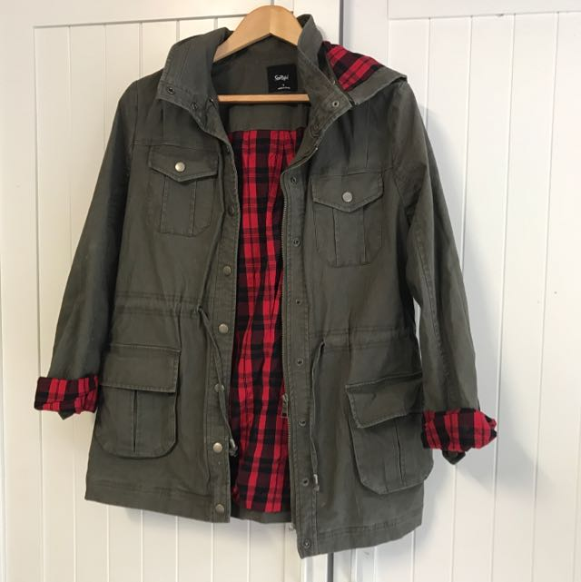 Sportsgirl  Size 10 Military Jacket