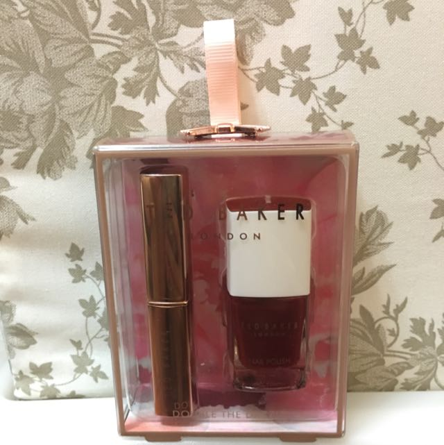 a85701b5747f Ted Baker DOUBLE THE DAZZLE Nail Polish   Tinted Lip Balm