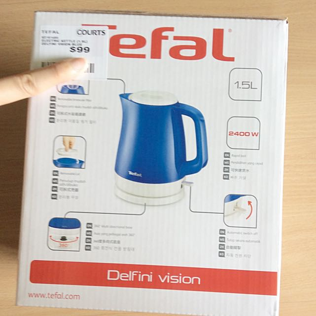 Tefal Water electric Kettle (1.5 Litres)