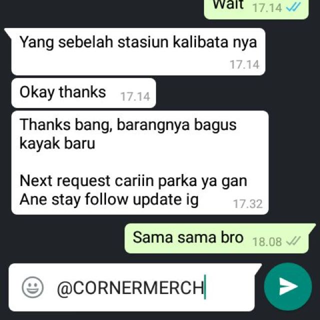 Testimonial Cornermerch!!!!! We Are Trusted Online Store.