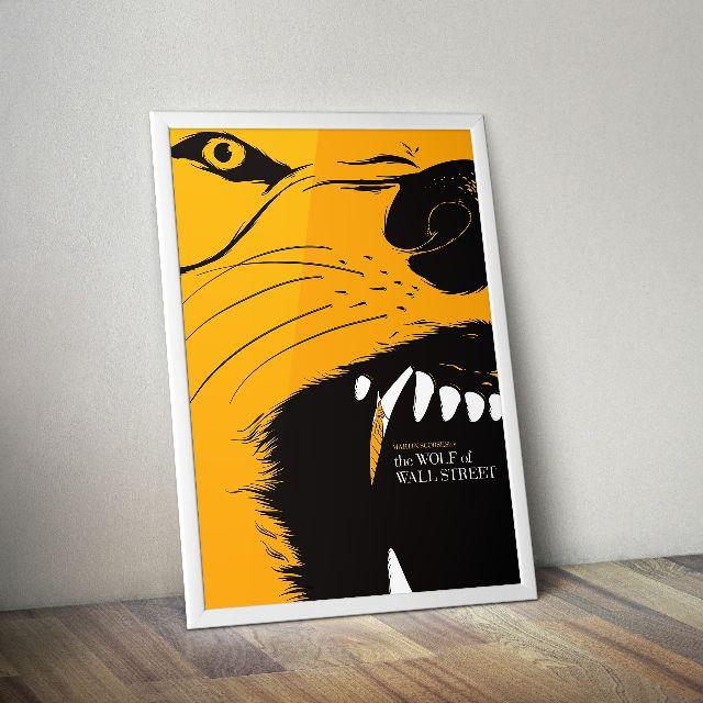 The Wolf of Wall Street alternate art movie poster., Design & Craft ...