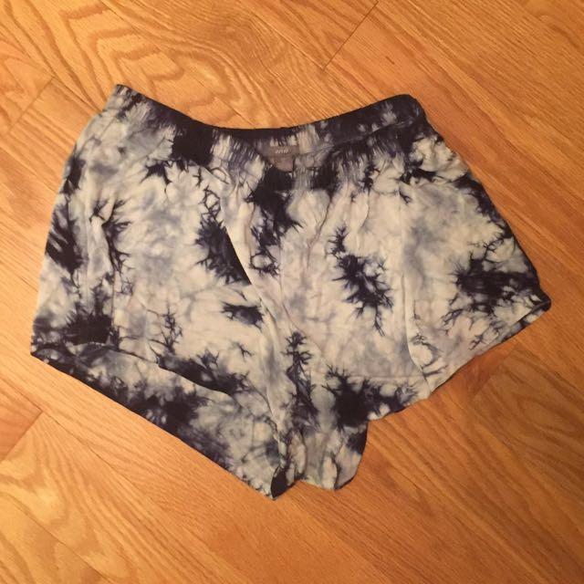 Tie Dye Fabric shorts