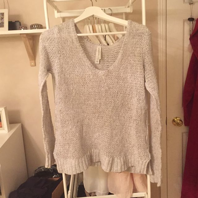 Very Low Neck Sweater