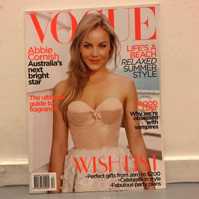 Vogue December 2009