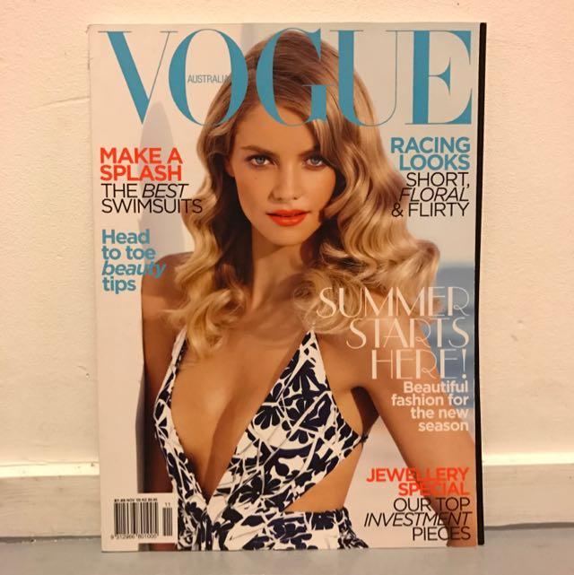 Vogue November 2009