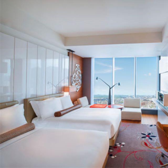 W Taipei 時尚飯店住宿卷ㄧ晚 Wonderful Room