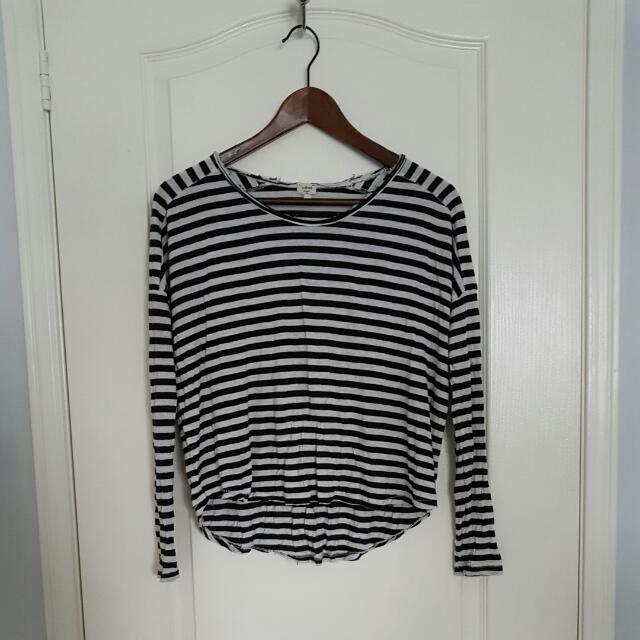 Wilfred Striped Shirt Size X-small