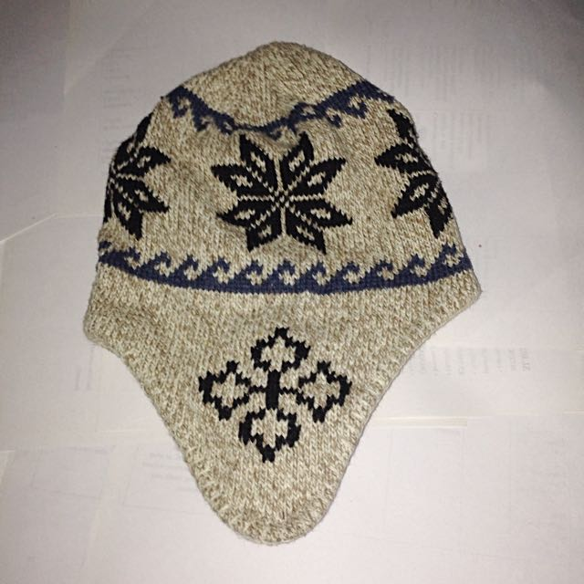 Winter Cap Light Brown One Size