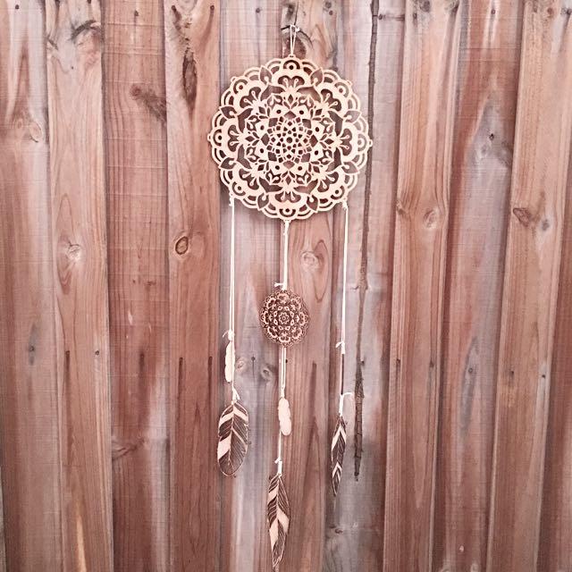 Wooden Mandala Dream Catcher