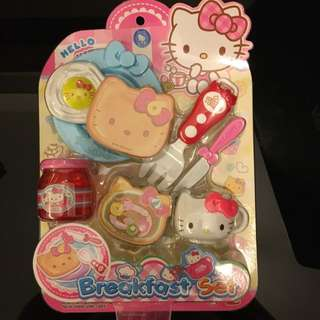 BNIP - Hello Kitty Breakfast Set - 8 Pieces