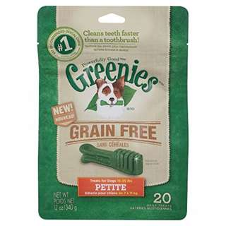 GREENIES Grain Free Dental Chews PETITE