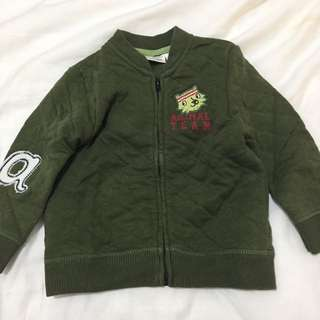 Zara Baby Patched Jacket (9-12 mons)