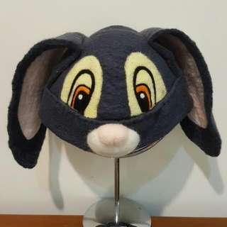 (手作品)長耳邦妮兔造型羊毛帽