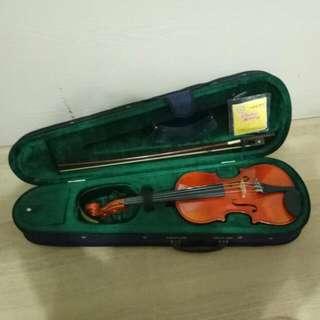 """Prillante Brand Violin (½ Size - Body Size 12.2"""")"""