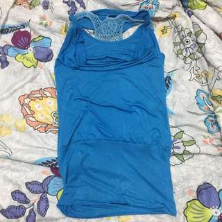 Mini Dress Blue