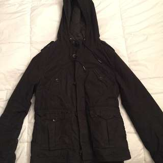 REDUCED PRICE **TNA Black Combat Jacket (Large)
