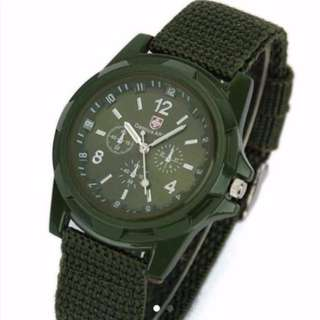 BN Gemius Army Green Watch