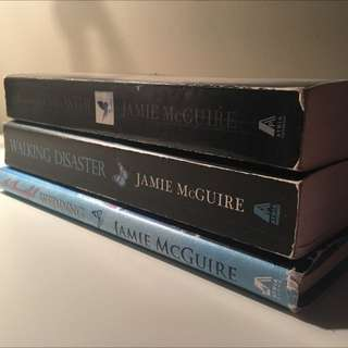 Beautiful Disaster Trilogy Books By Jamie McGuire
