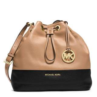 AUTHENTIC NEW Michael Kors Crossbody Drawstring Bag